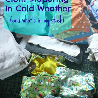Cloth Diapering In Cold Weather