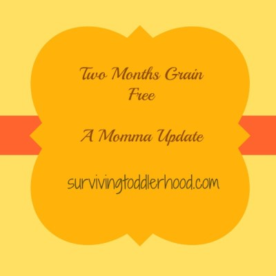 Two Months Grain Free: A Momma Update