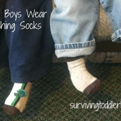 Why My Boys Wear Mismatching Socks