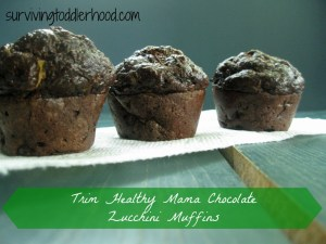 Grain Free Zucchini Muffins