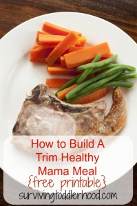 How to Build A Trim Healthy Mama Meal