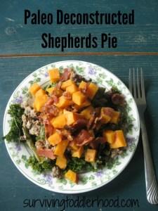 Paleo Deconstructed Shepherds Pie {THM S Helper,}