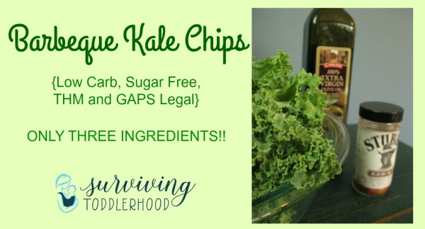 Kale Barbeque Chips
