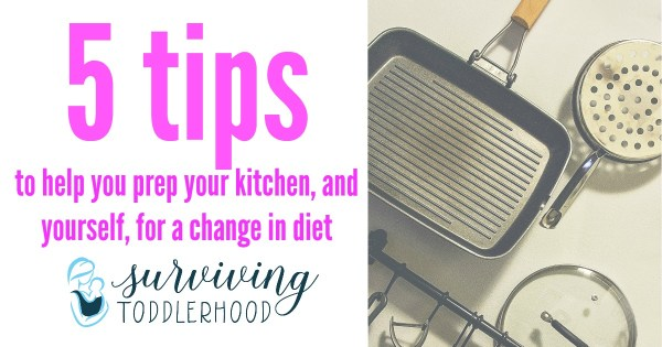5 Tips to Prep Your Kitchen for Your Change in Diet