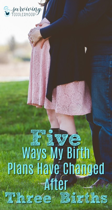 5 Ways My Birth Plans Have Changed after Three Births #pregnancy #vbac #pregnant #motherhood #momlife | Motherhood | Tips for New Moms | Mothering | Crunchy Mom | Crunchy Mama | Pregnancy Tips | Birth | Birth Plans | VBAC |