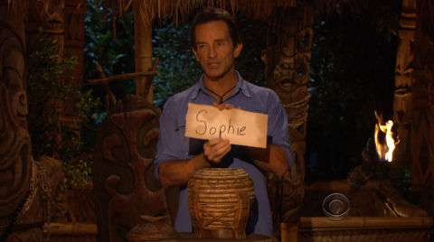 Survivor South Pacific - Sophie Clark wins