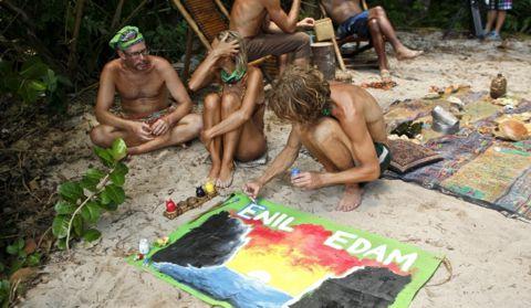 Survivor 2013 Tribe merge