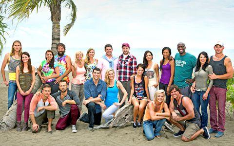 Survivor 2013 cast - Blood vs Water