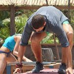 John and Candice compete at Redemption Island