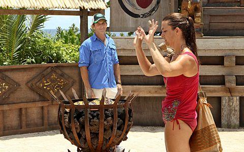 Laura Boneham eliminated from Survivor 2013