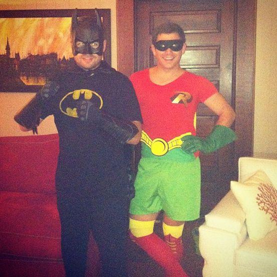 colton and caleb on halloween