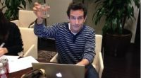 Jeff Probst cheers the Survivor 2014 premiere