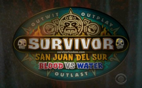 Survivor 2014 Blood Vs Water