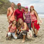Hali Ford with her tribe on Survivor