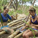 Sierra Thomas builds shelter on Survivor