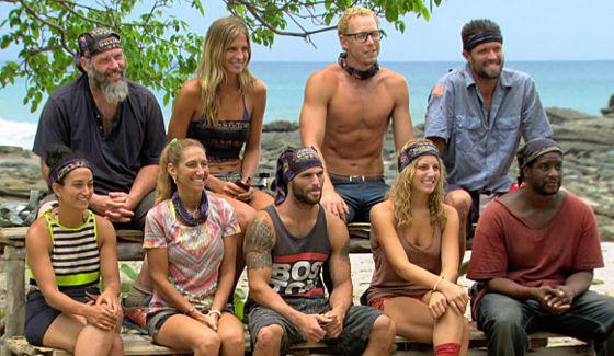 Survivor 2015 castaways in Episode 10