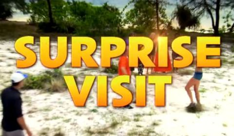 Surprise visit from loved ones on Survivor Second Chance