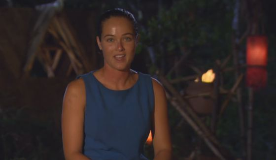 "Elisabeth Markham gives her ""Confessional"" interview on Survivor"
