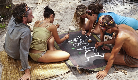 Castaways on the merged tribe of Dara