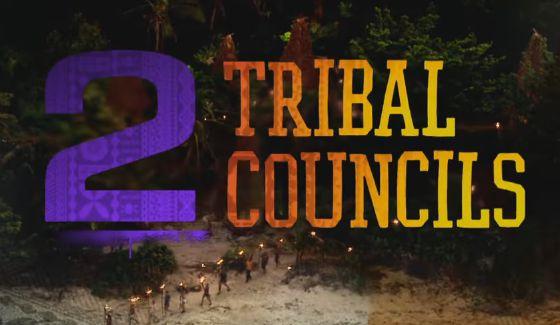 2 Tribal Councils await the castaways