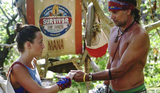 Ciera and Troyzan on Survivor 2017