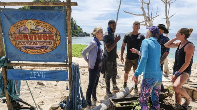 Levu tribe on Survivor 2017