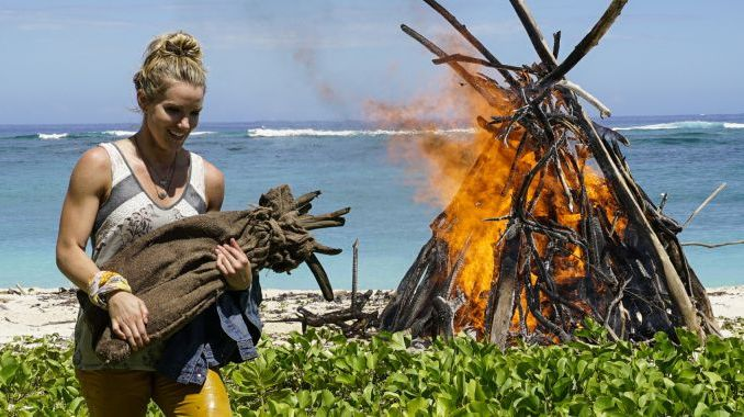 Jessica Johnston on Survivor 2017