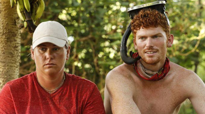 Lauren and Patrick on Survivor 2017