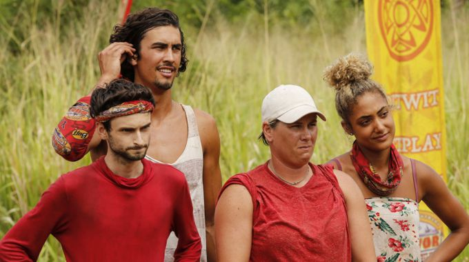 Hustlers tribe on Survivor 2017
