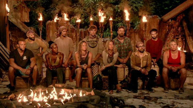 Tribal Council in Week 8 of Survivor 2017
