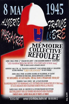 Setif massacre poster