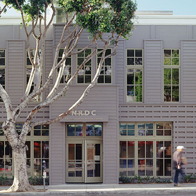 The Robert Redford NRDC Building - Santa Monica, California.