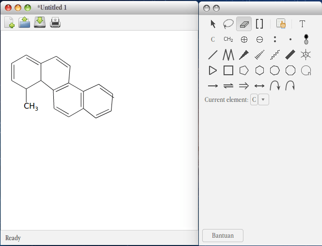 GChemPaint Chemical Structures Editor