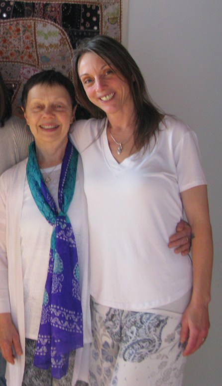 Amber and Mary at our Gratitude Celebration this past winter. Feeling grateful for all of you.