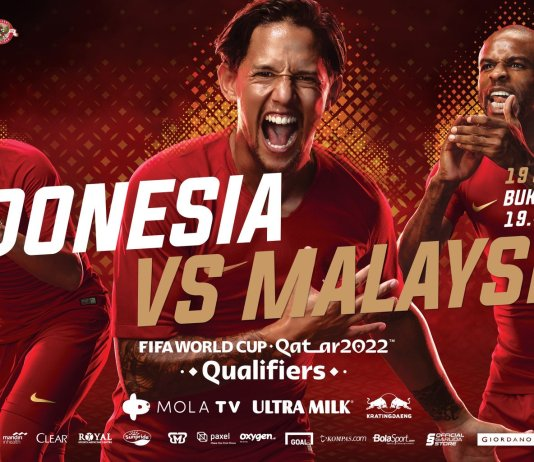 Indonesia vs Malaysia (Sumber: PSSI)