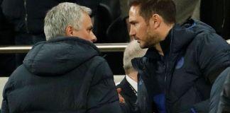 Jose Mourinho (kiri) dan Frank Lampard. (Foto: Premierleague.com)