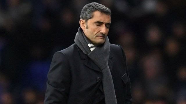 Pelatih Barcelona Ernesto Valverde (SUmber Foto: Livescore)