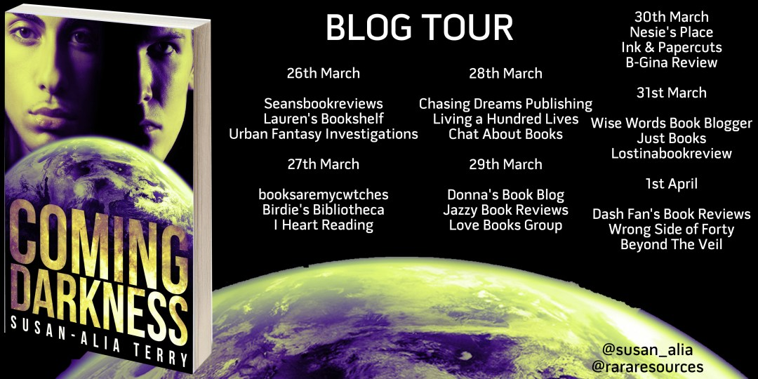 Coming Darkness Blog Tour March 26-April 1, 2018