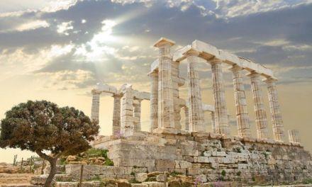 El templo de Poseidón