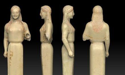 La escultura en la época arcaica