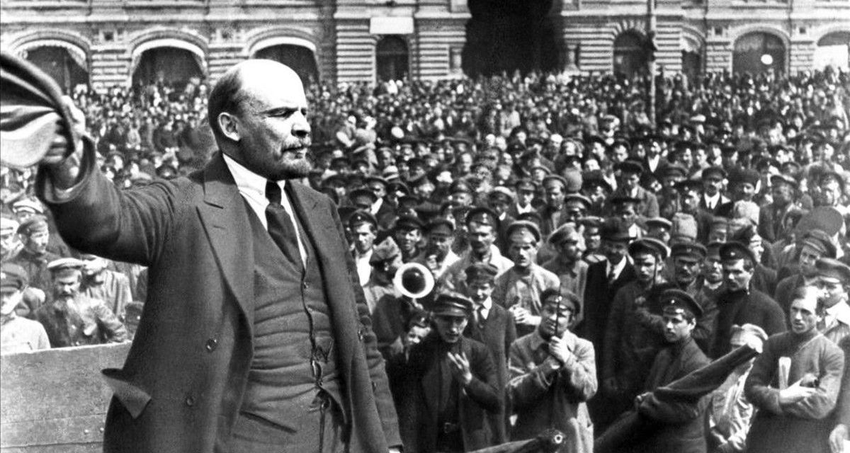 La URSS entre 1917 y 1927