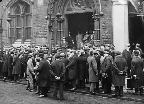 La crisis democrática y capitalista en Europa tras la 1ª Guerra Mundial