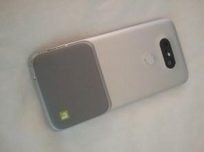LG G5 Modular Design - camera attachment