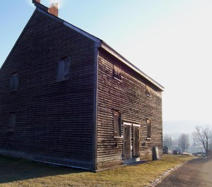 Quaker Meeting House, Adams. Photo by Jeanne Gehret