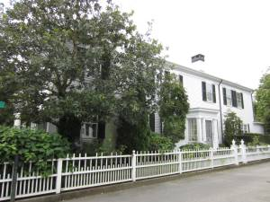 Osborn House in Edgartown, Martha's Vineyard