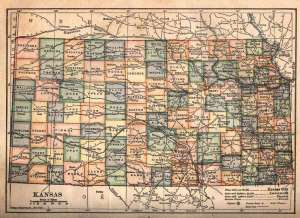 Kansas Map Small