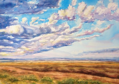 Scudding Clouds – Image © Susan Bartel. All Rights Reserved.
