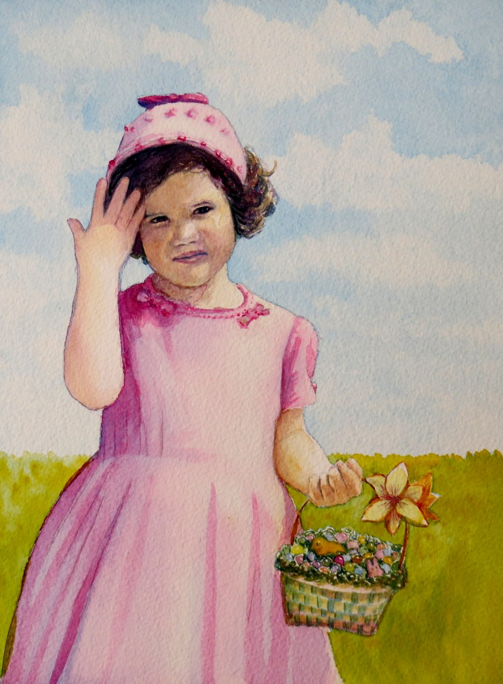 In My Easter Bonnet – Image © Susan Bartel. All Rights Reserved.