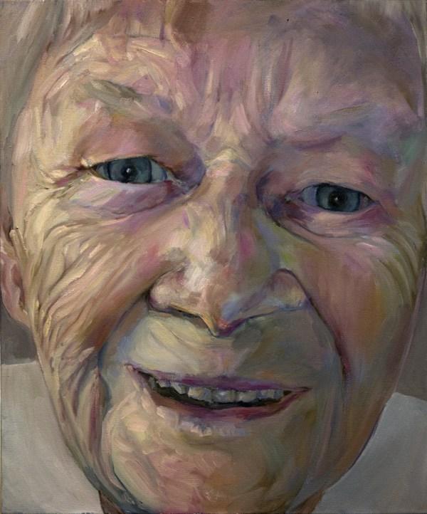 "SMILE, 24""x20"" oil on canvas"