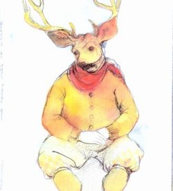 THE MERRY WIVES OF WINDSOR, Stratford Festival, 1995, costume for Bill Hutt